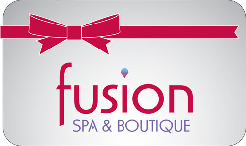 gift certificates fusion spa boutique